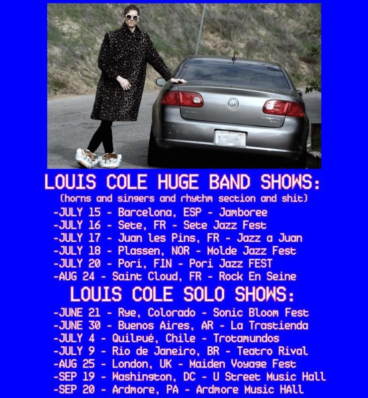 Louis Cole - Summer tour !
