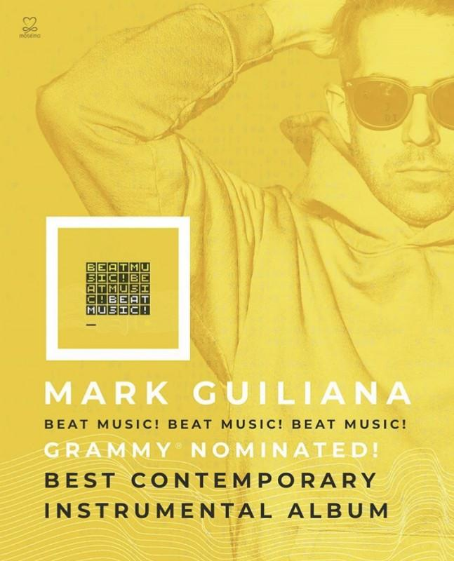 Mark Guiliana 'Beat Music! Beat Music! Beat Music!' / Grammy Awards 2019!