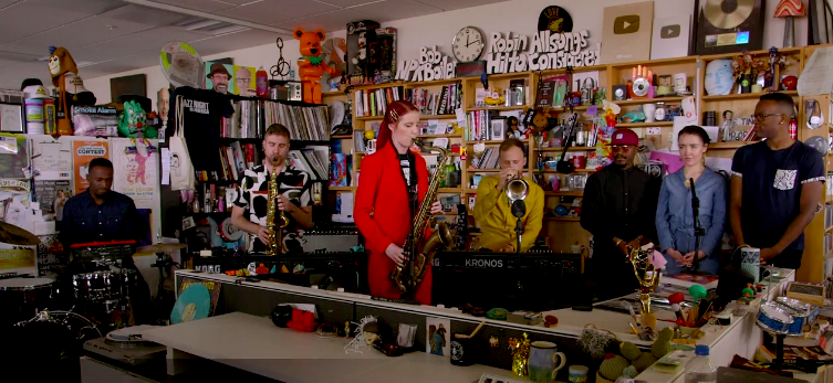 Moonchild - Tiny Desk NPR