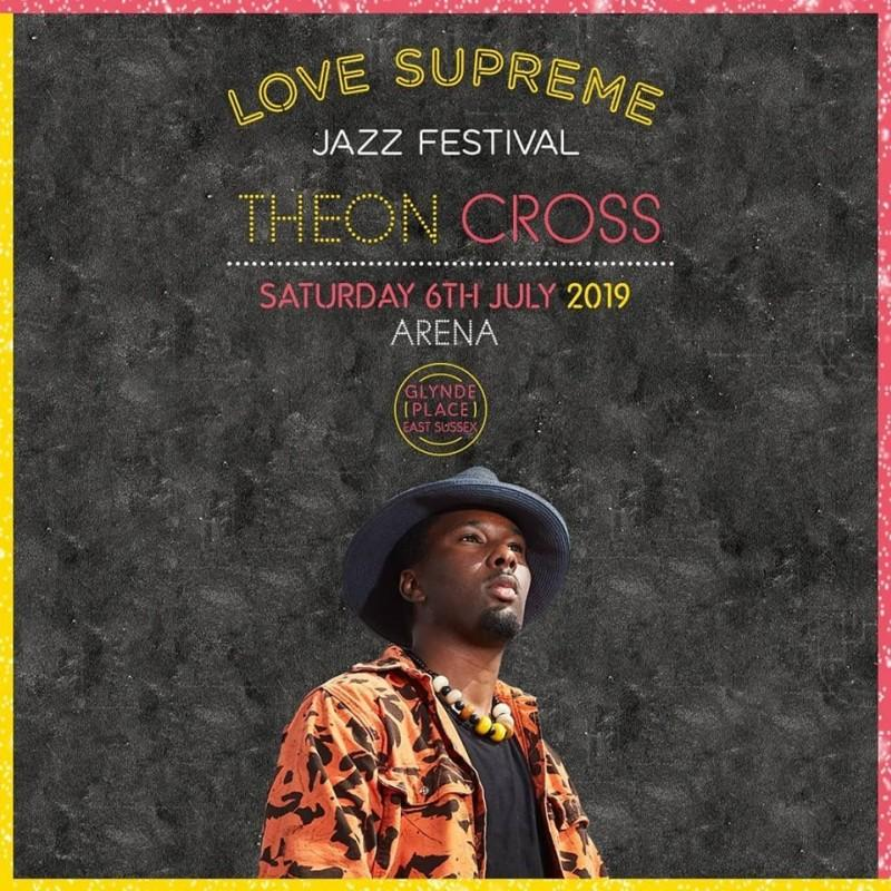 Theon Cross au Love Supreme Festival
