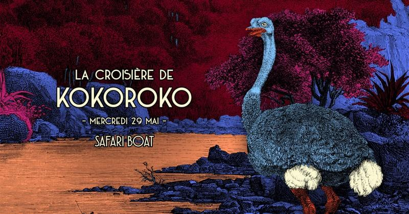 Kokoroko - SOLD OUT au Safari Boat.