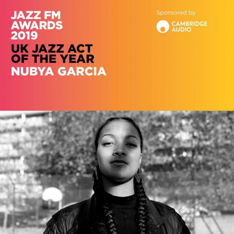 Nubya Garcia - UK JAZZ ACT 2019